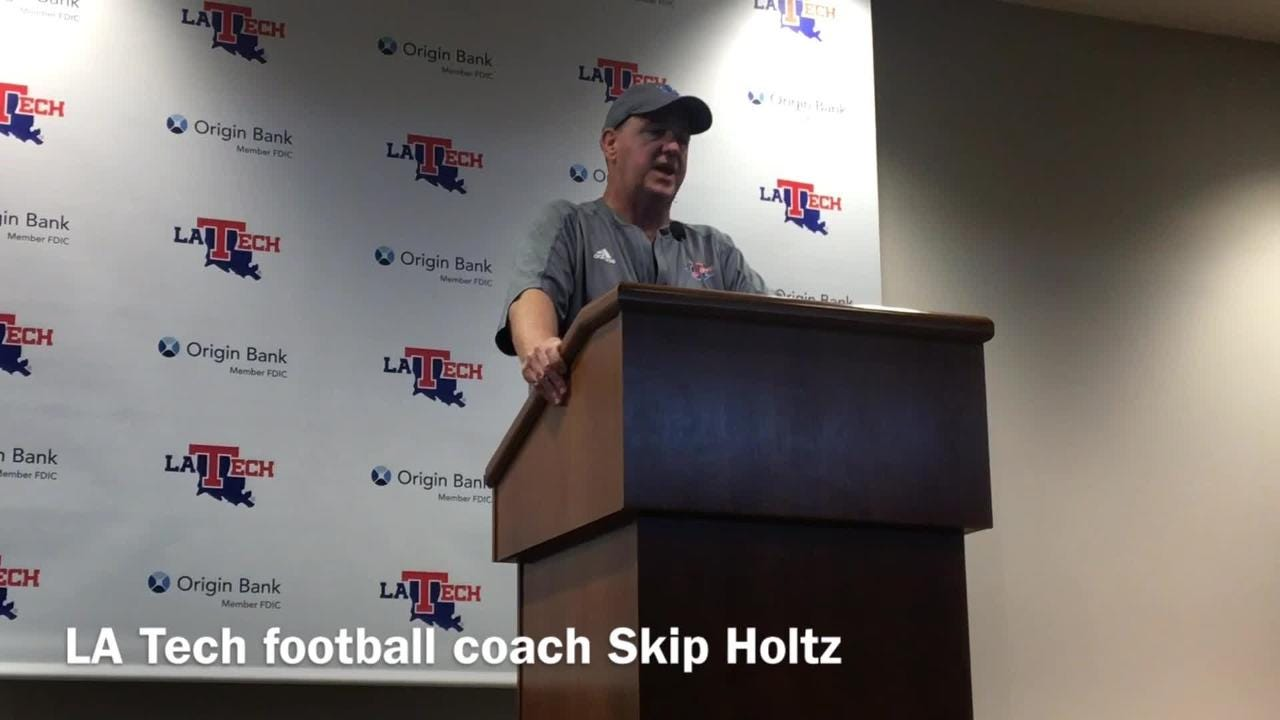 Skip Holtz assesses how the bitter season end helps Louisiana Tech