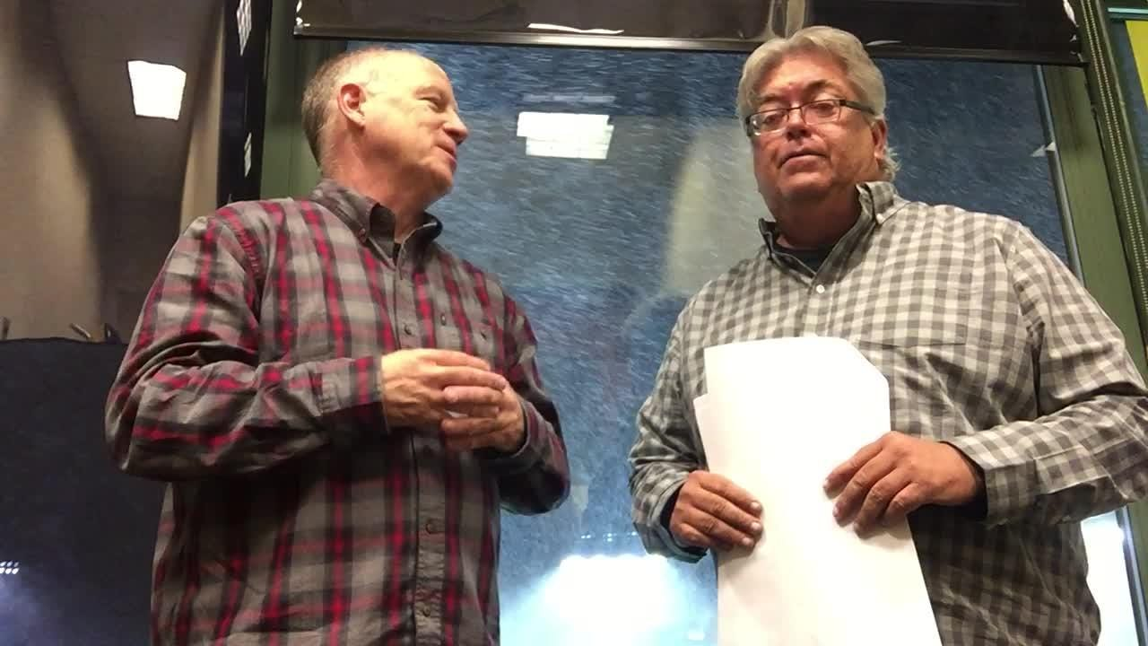 azcentral sports' Kent Somers and Bob McManaman brave the snow to break down the Cardinals victory over the Packers on Sunday.