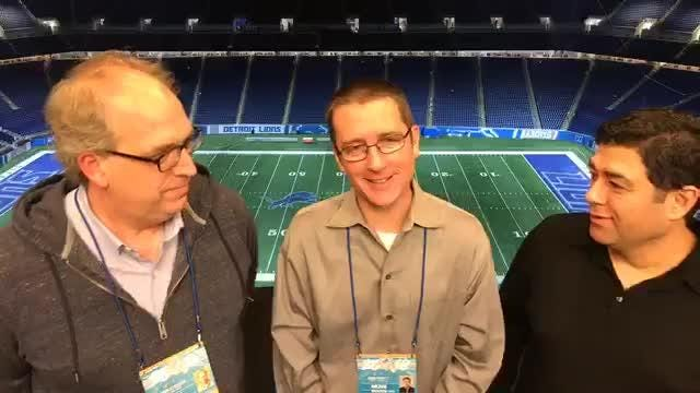 Free Press writers examine the Lions' 30-16 loss to the Rams at Ford Field, and debate the Matt Patricia blueprint going forward Dec. 2, 2018.