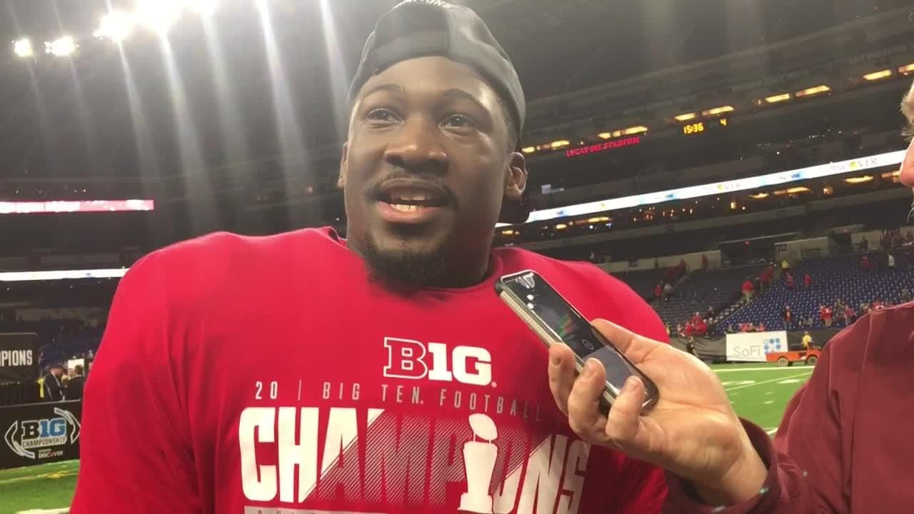 Johnnie Dixon had team-high 7 catches and a TD in Big Ten title win over Northwestern