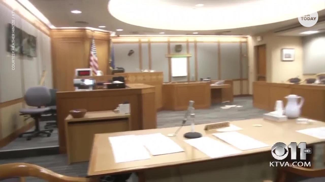 7 0-magnitude earthquake rocks Alaska courthouse