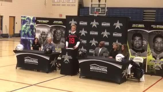 Pinnacle quarterback Spencer Rattler, who became ineligle Oct.18 for a school violation, will play in the All-American Bowl in San Antonio in January
