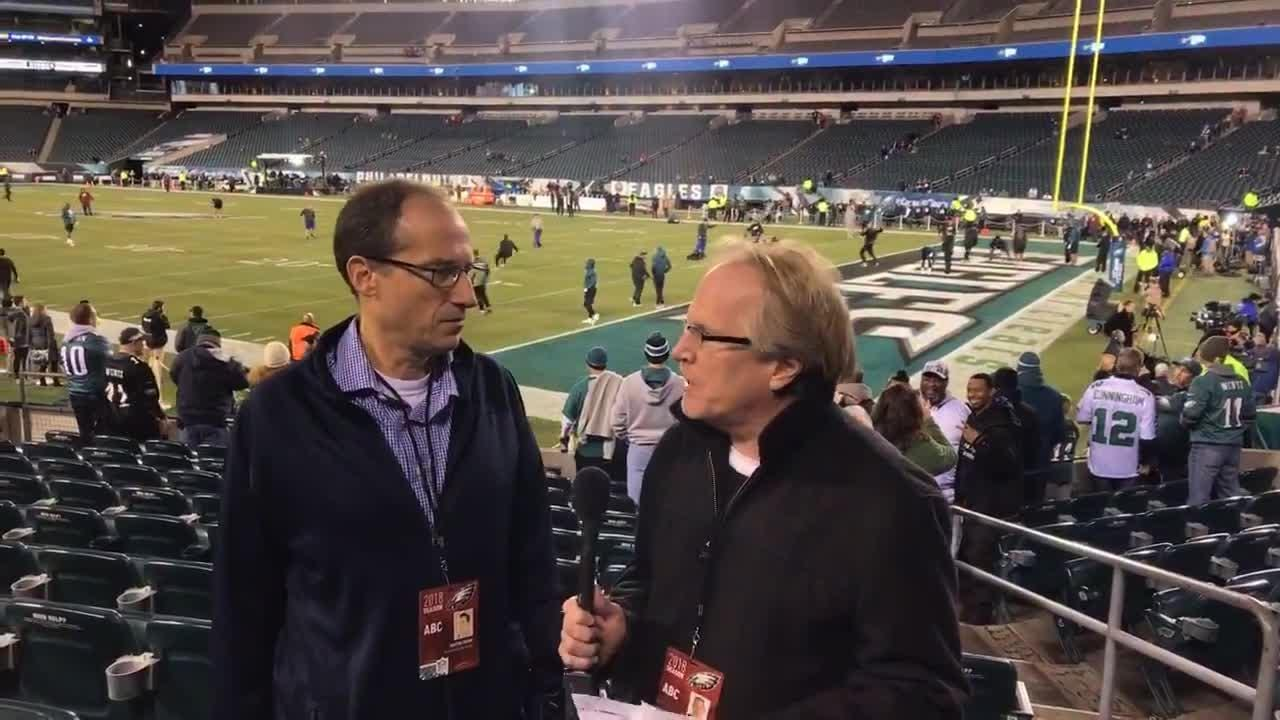 Martin Frank and Kevin Tresolini preview the Eagles must win game against the Redskins from the Linc.