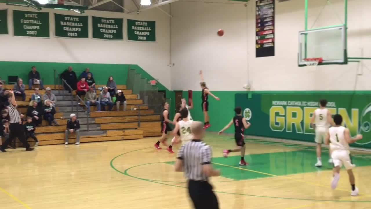 Crooksville rallied from a five-point fourth-quarter deficit to beat Newark Catholic 65-58 in Monday's season opener.