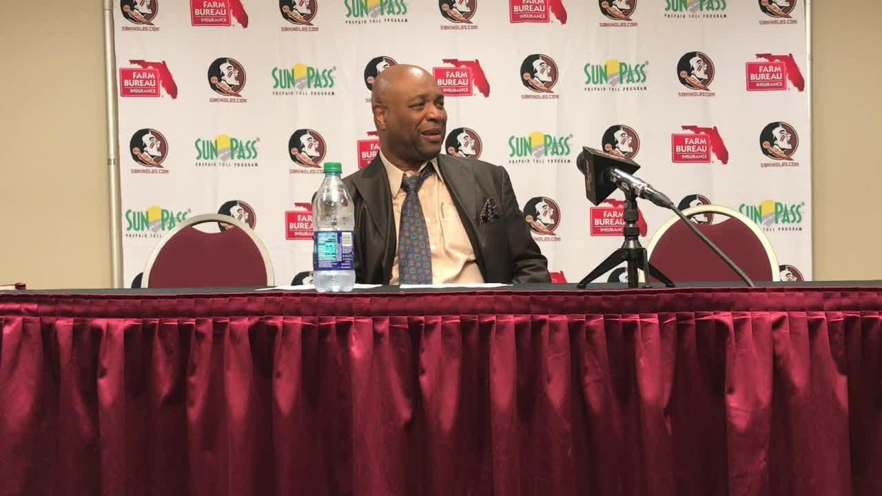 FSU coach Leonard Hamilton on his team's progress this season and the win over Troy.