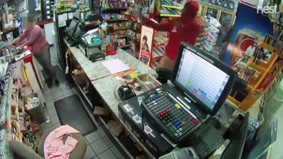 Fort Pierce Police are asking for help in identifying three people accused of robbing a BP gas station last week.