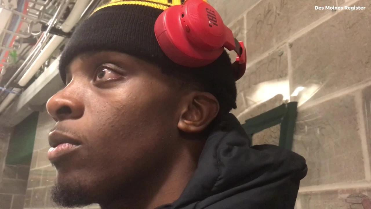 """Iowa forward Tyler Cook calls Michigan State loss """"a hiccup,"""" says it will not define Hawkeyes' season"""
