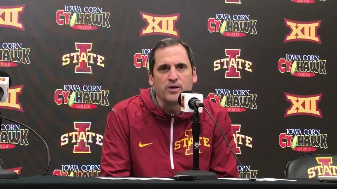 Iowa State won't do anything fancy to exploit Iowa getting tagged 86-46 in paint points the past two games.