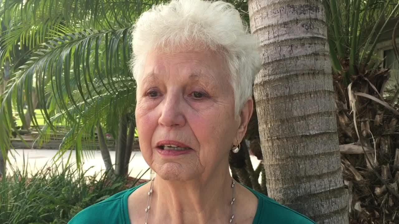A statue of a praying angel is an 81 yr. old's symbol of hope, and it was stolen from her front yard on her birthday. She is begging for it's return.