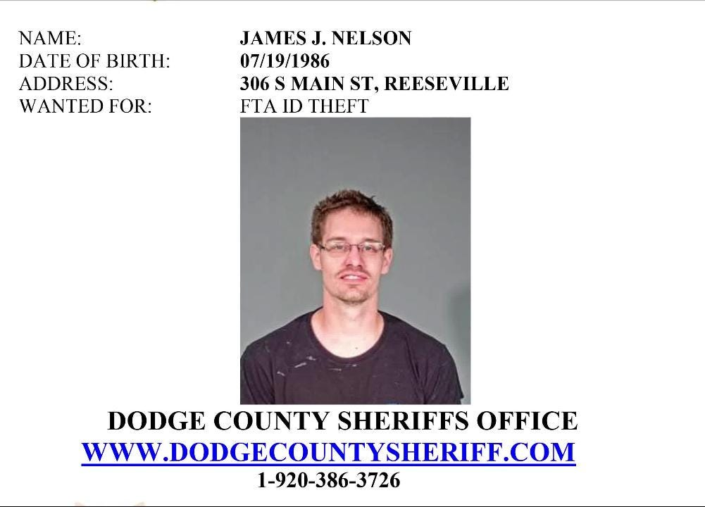 Dodge County Sheriff's December 2018 most wanted