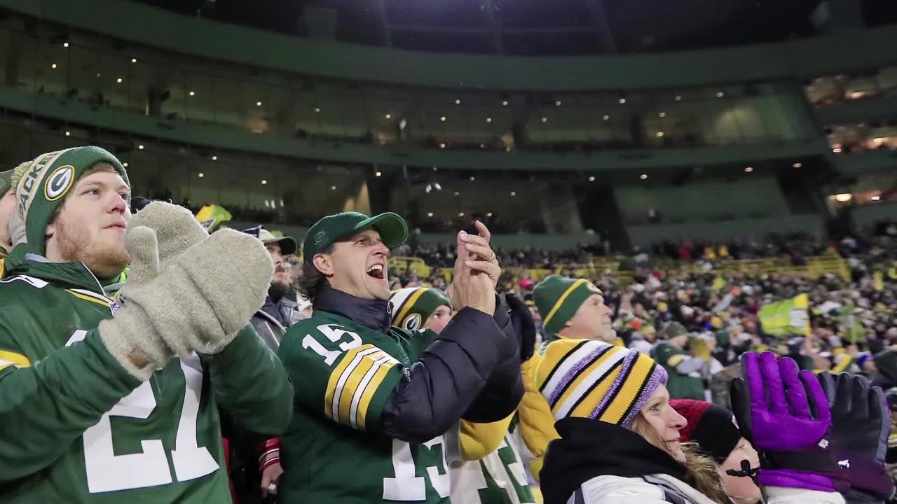 Chad Buboltz could have changed seats at Lambeau to sit by family members. But he didn't want to leave the friends they made in their section.