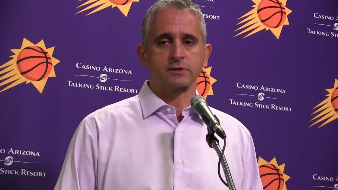 Phoenix Suns scored just nine points in 1st quarter of 122-105 loss Tuesday night to Sacramento Kings at Talking Stick Resort Arena