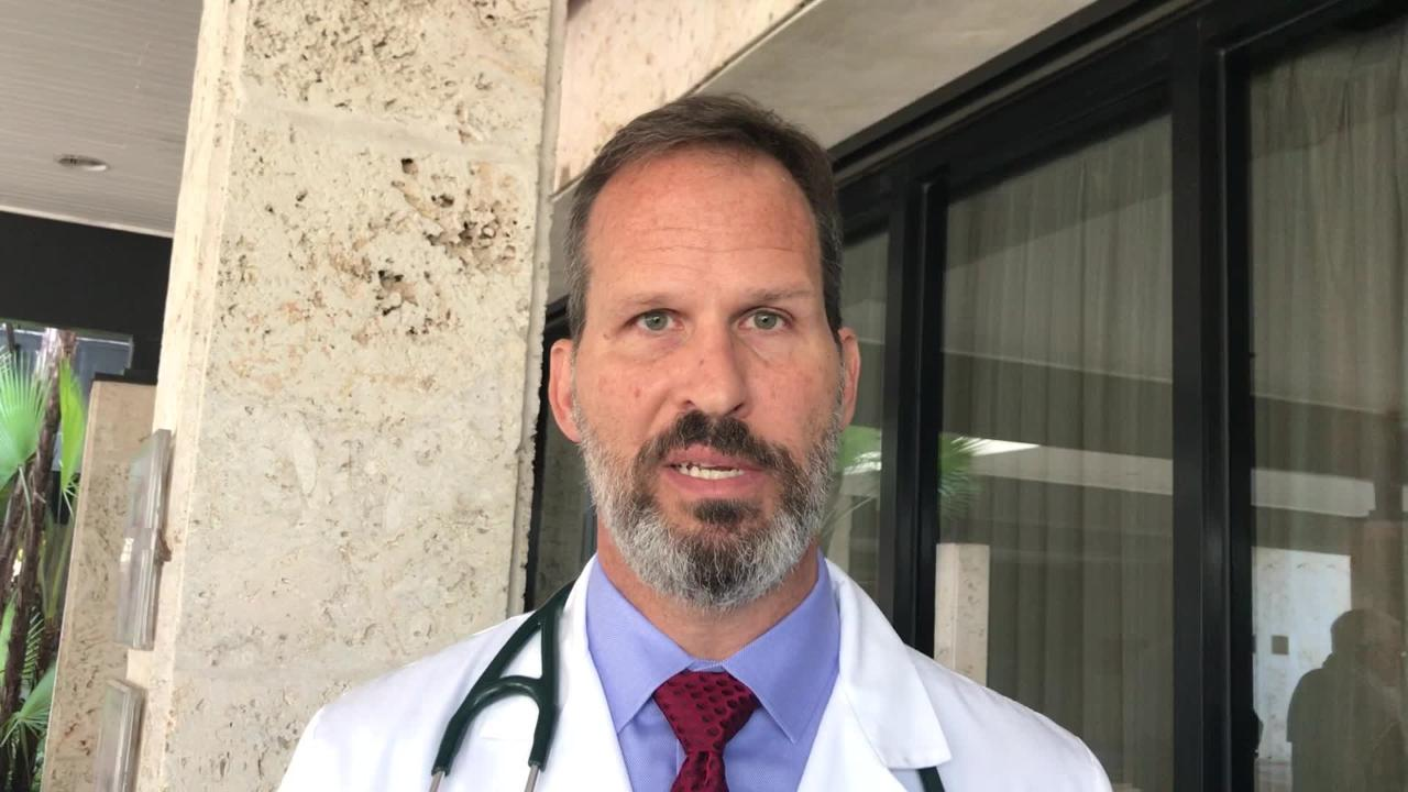 Dr. Scott Madwar, an independent concierge physician, speaks out against the NCH Healthcare System's plan to change its physician admitting policy.
