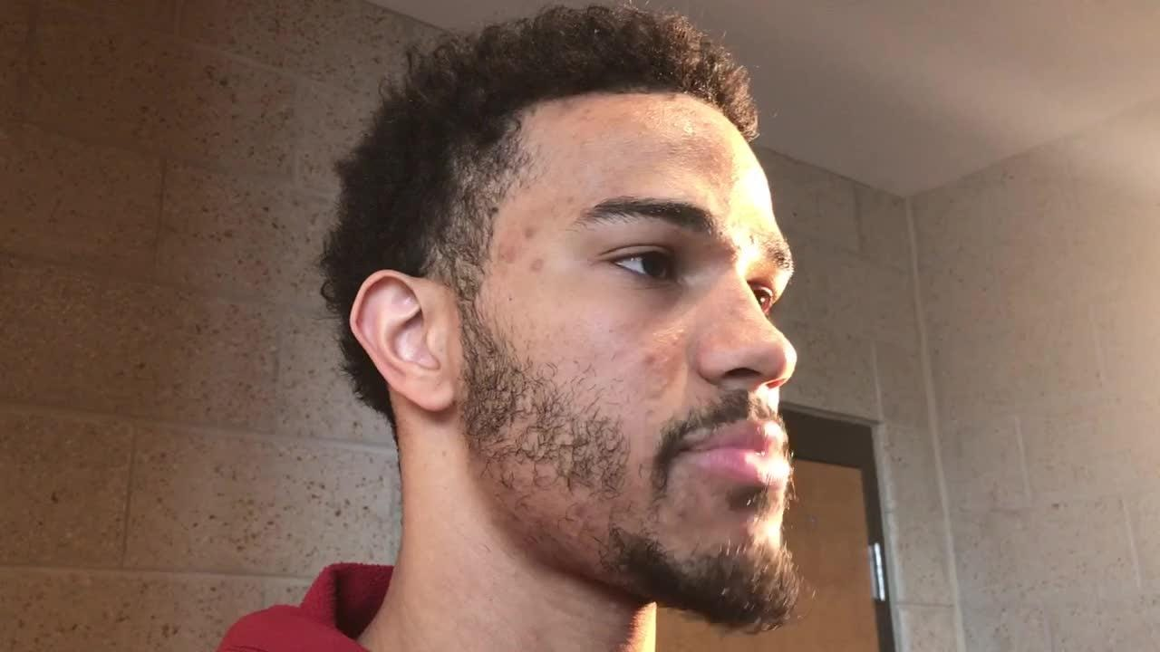 Nick Weiler-Babb says the key Thursday is for the rookies to stay focused, move the ball and play together.