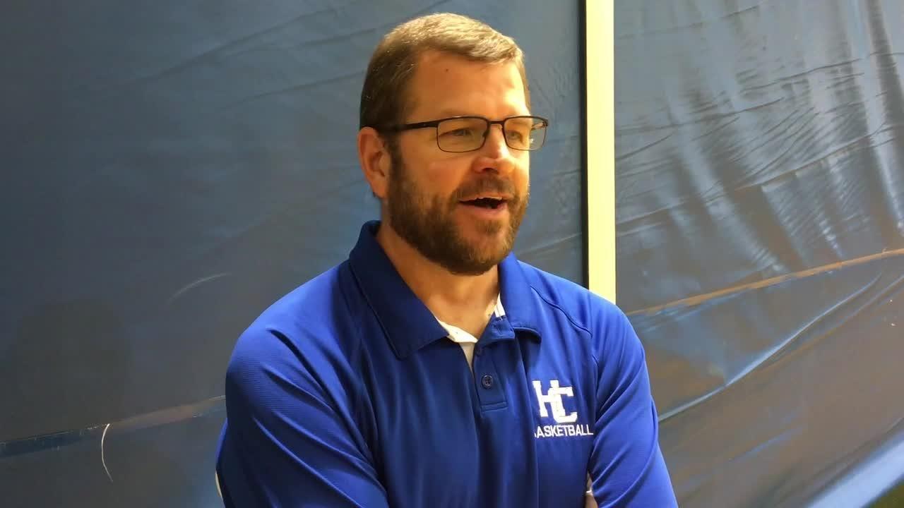 Harper Creek coach Phil Hicks talks about the 2018-19 Harper Creek Girls Basketball Team