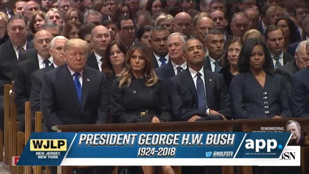 America honors the 41st President George H.W. Bush