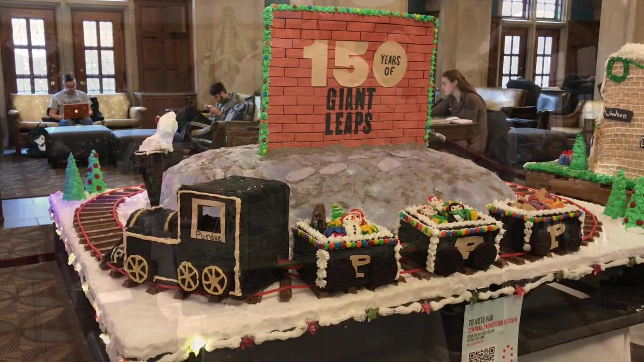 Voting for Purdue's annual gingerbread competition is open until Friday at 2 p.m.
