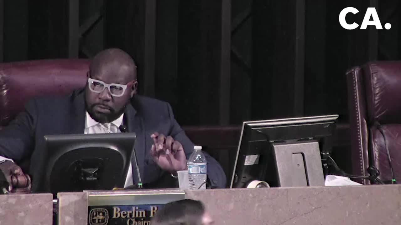 Four Memphis City Council members walked out of a meeting over a vote for anappointment, leaving the council unable to vote or conduct business.