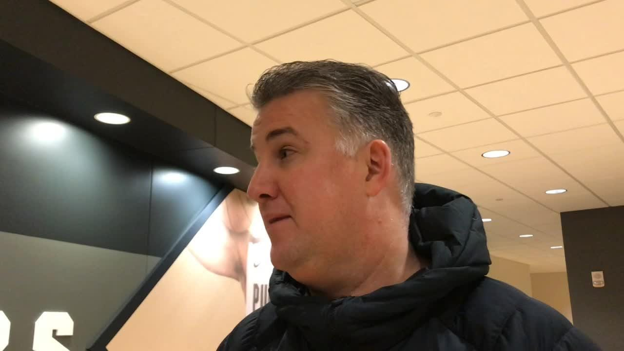 The Boilermakers coach breaks down Wednesday's opponent, discusses Carsen Edwards' recent play and more.