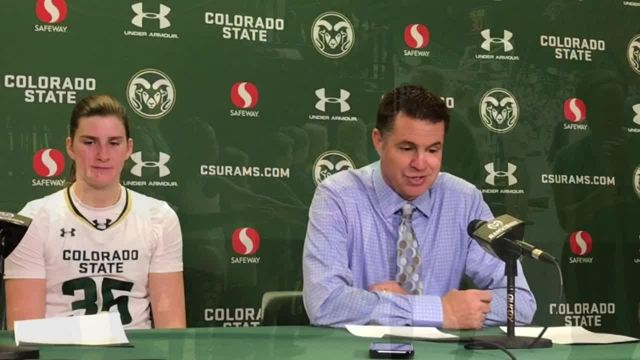 The CSU women's basketball team hosted 12 different local schools at a Wednesday morning game against Northern Arizona