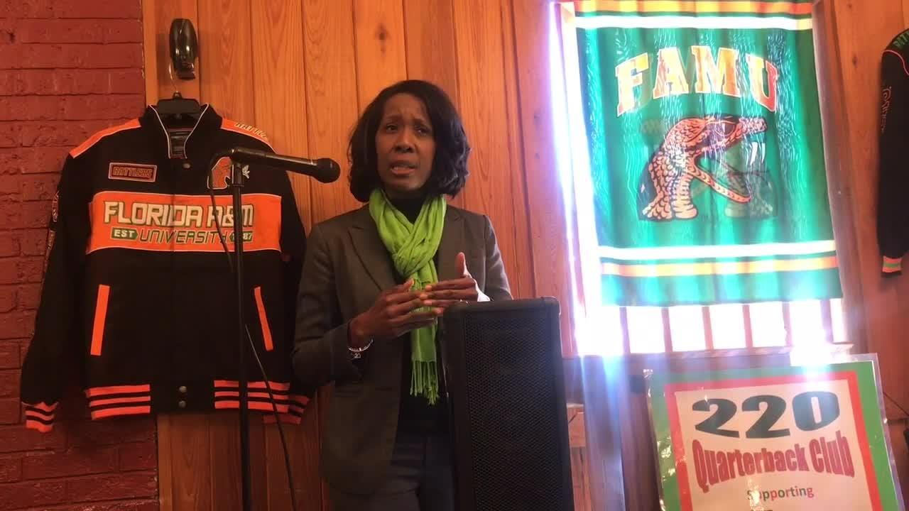 WATCH: FAMU deputy AD Dr. Genyne Boston discusses plans and her new role with the department.