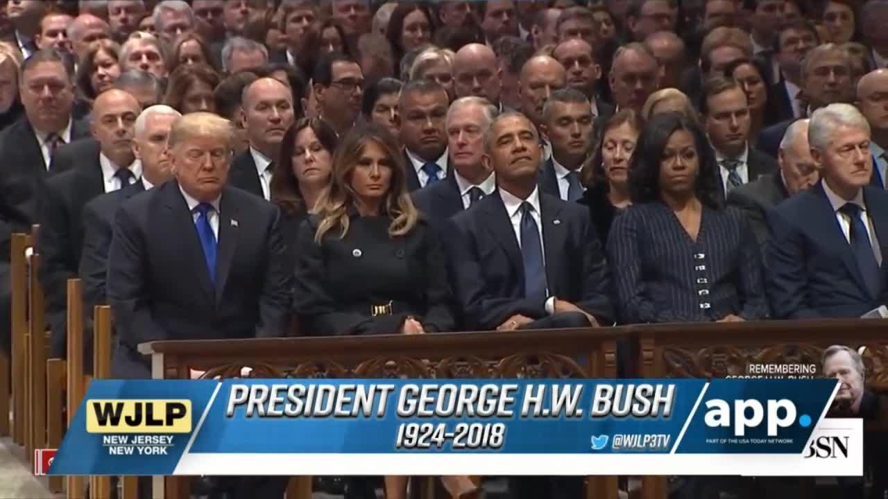 Remembering President Remembering George H.W. Bush at funeral service