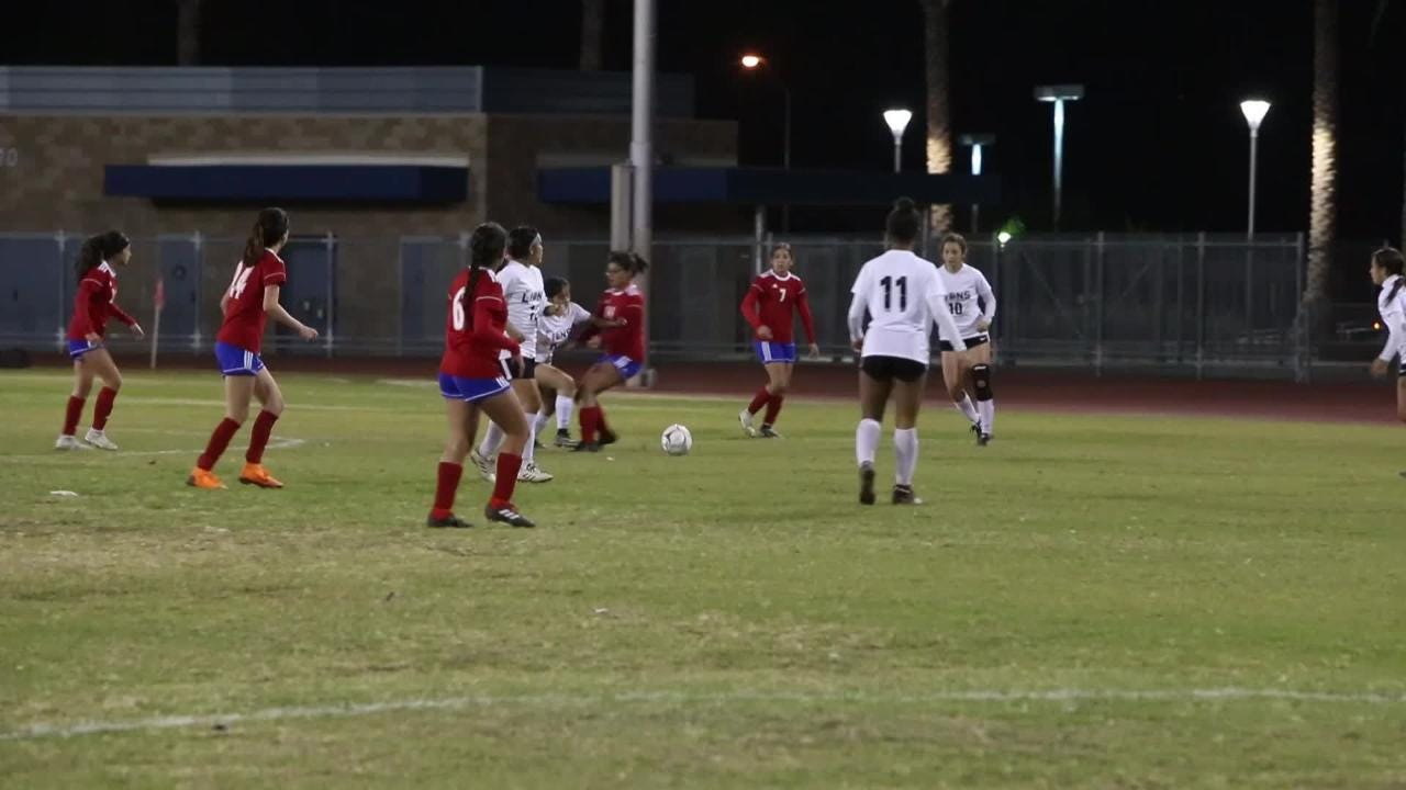 A Desert Valley League match between Indio and Cathedral City