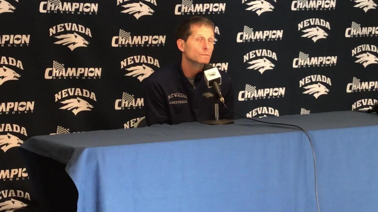 Nevada basketball coach Eric Musselman breaks down the Wolf Pack's wins away from home, talks about facving unbeaten Sun Devils