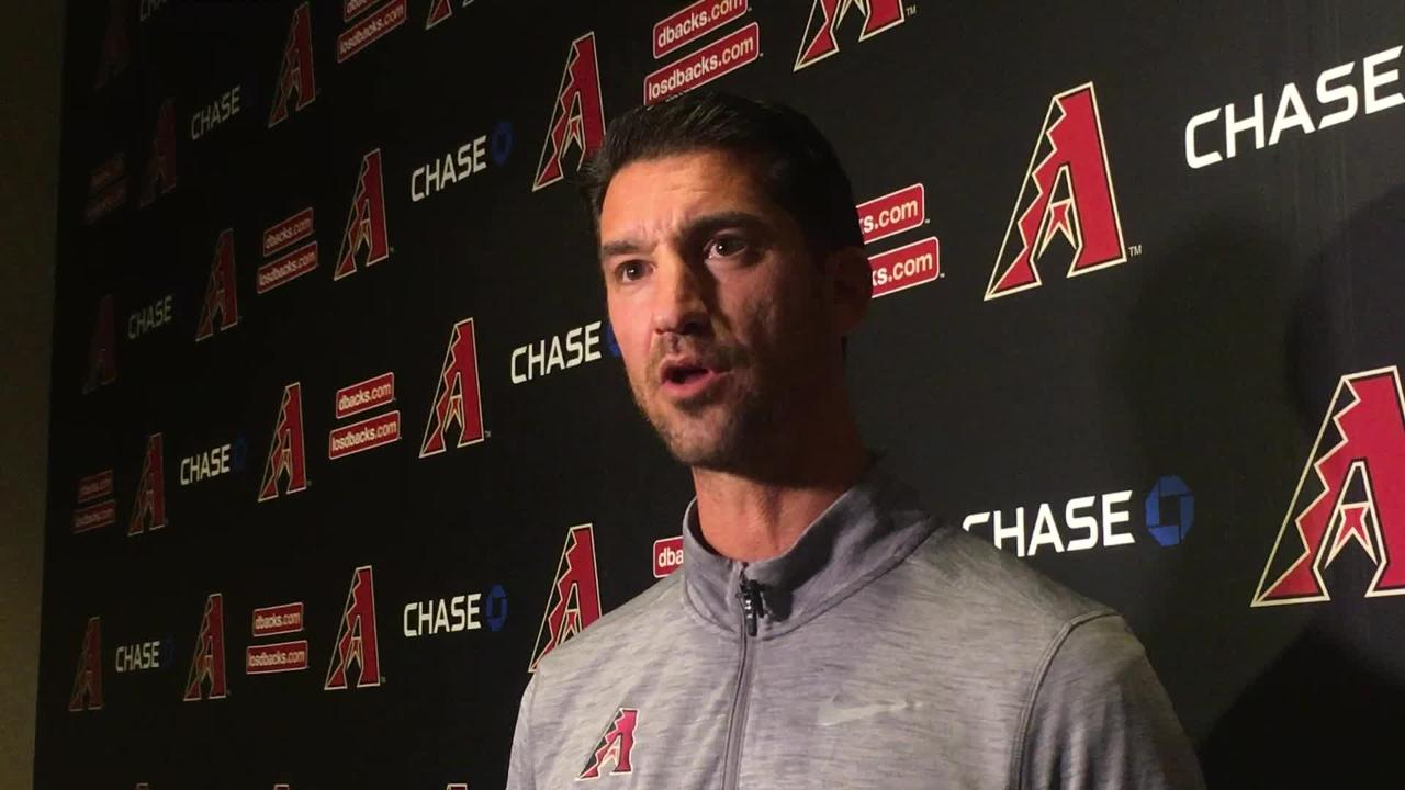 "Diamondbacks GM Mike Hazen said he ""completely understands"" why fans would be upset about the Paul Goldschmidt trade."