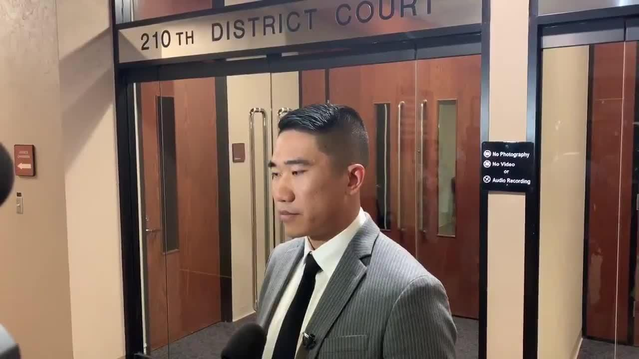 Xiaoyan Shi's husband, Xiaotoa Xu, talks about the guilty verdict handed down by the jury in the intoxicated manslaughter trial of Lorenzo Anchondo