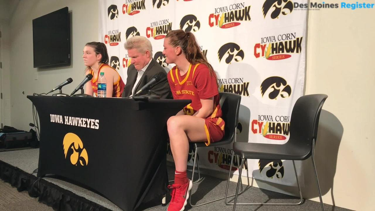 Alexa Middleton breaks down her solid outing in her first Cy-Hawk game