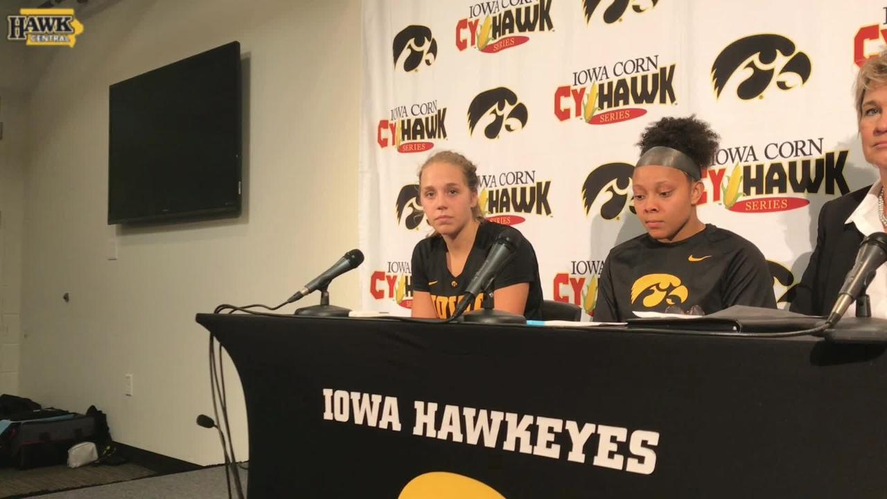 Kathleen Doyle breaks down her Cy-Hawk return from a fractured hand