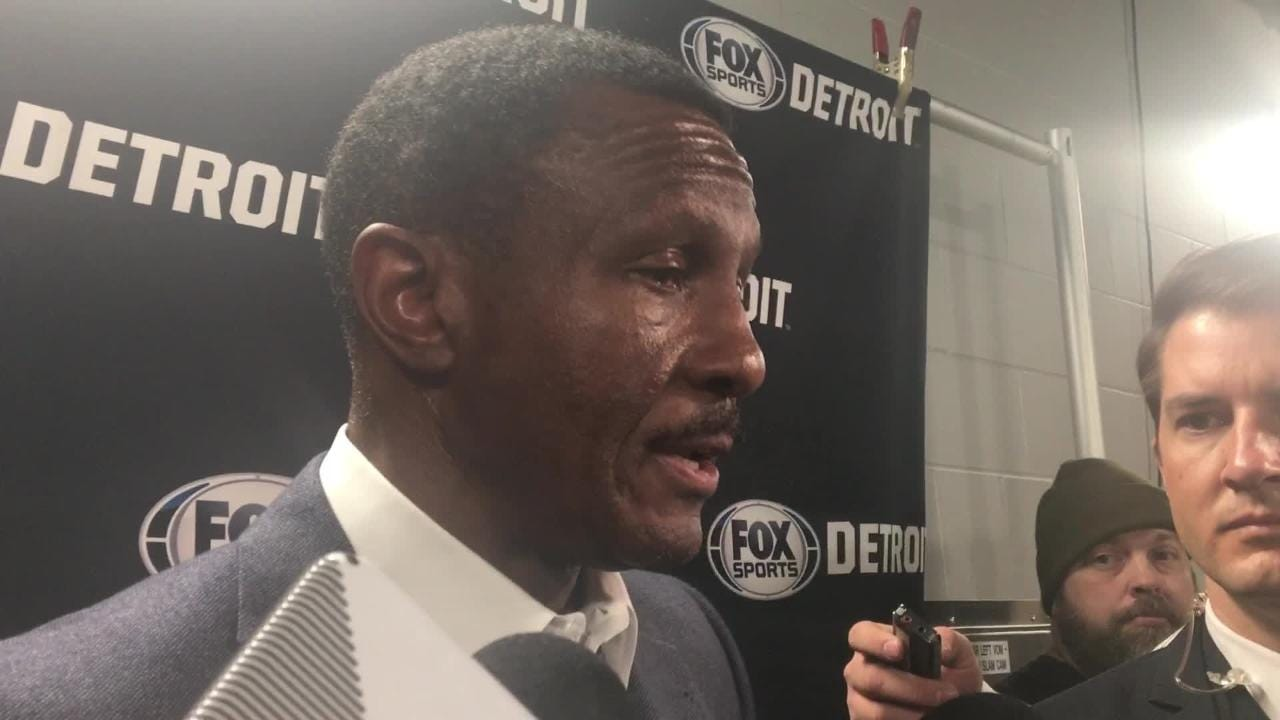 Dwane Casey updates status of Ish Smith, who suffered groin injury in Pistons blowout loss to Bucks, and discusses 3-point shooting Dec. 5, 2018.