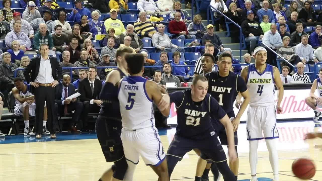 """Delaware took Navy too carelessly, the Hens said after losing, 80-65. """"The lesson for us is to always stay humble,"""" Ithiel Horton said."""