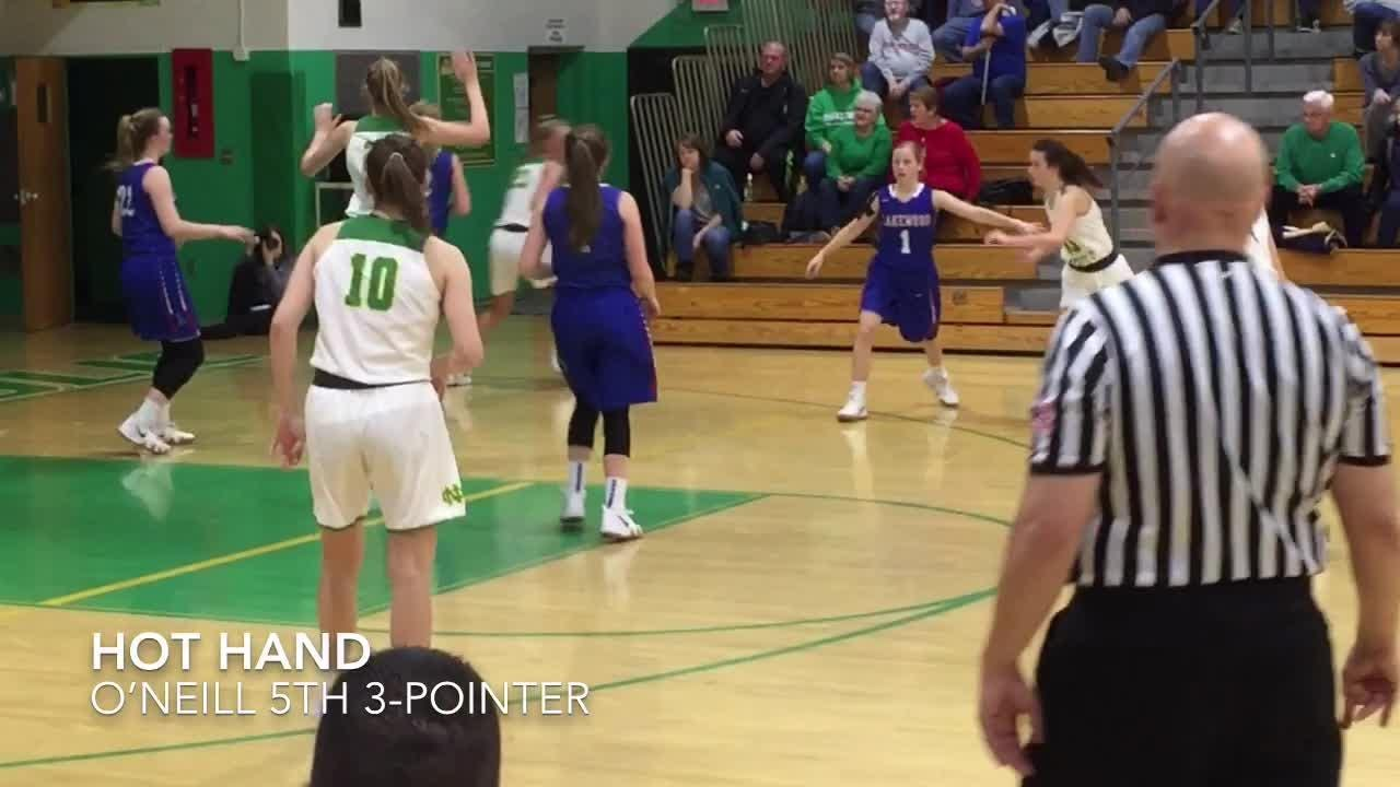 Newark Catholic pulled away to a 47-30 win against visiting Lakewood in an LCL girls opener.