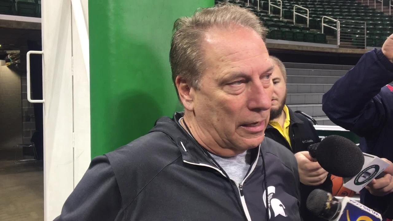 Michigan State coach Tom Izzo liked what he saw against Iowa and wants the Spartans to use practice time the next few weeks to work on little things.