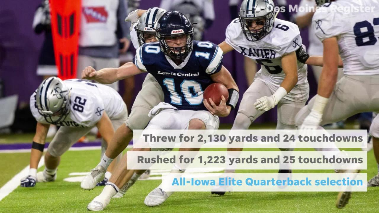 Top Linebacker Recruits 2020.Here Are The 2018 All Iowa Football Player Of The Year Finalists