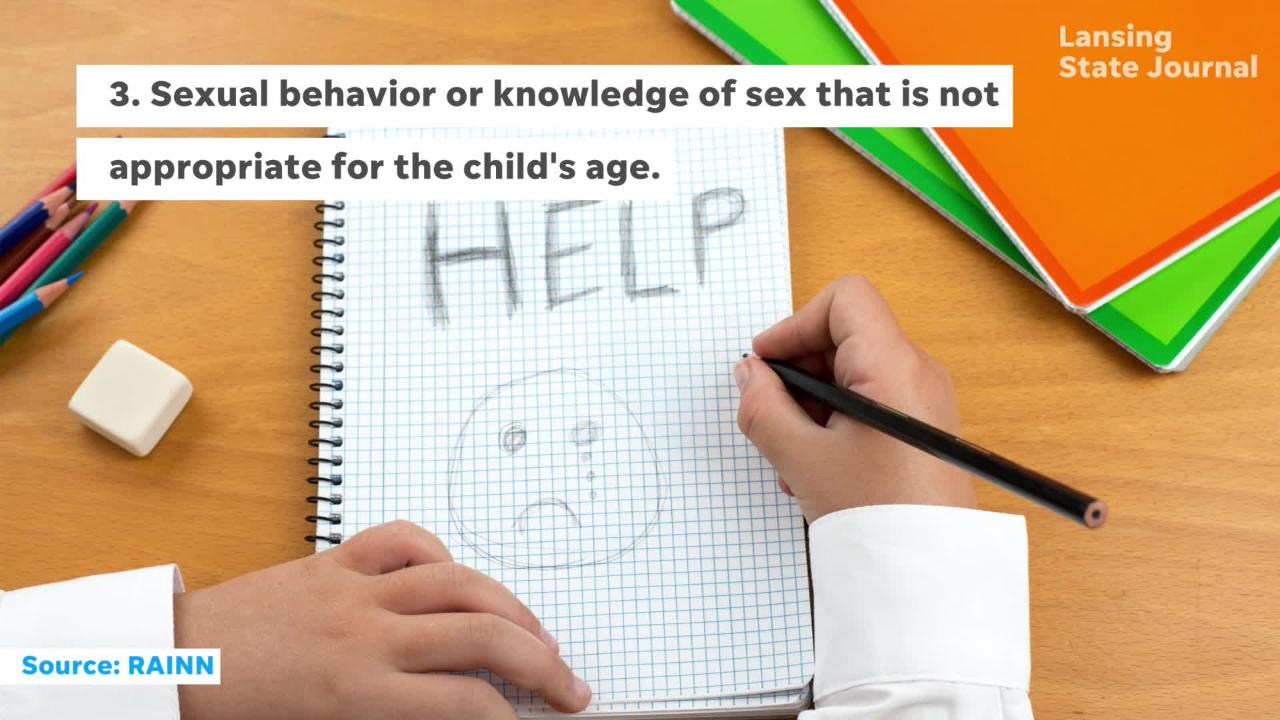 How to recognize signs of sexual abuse in your child