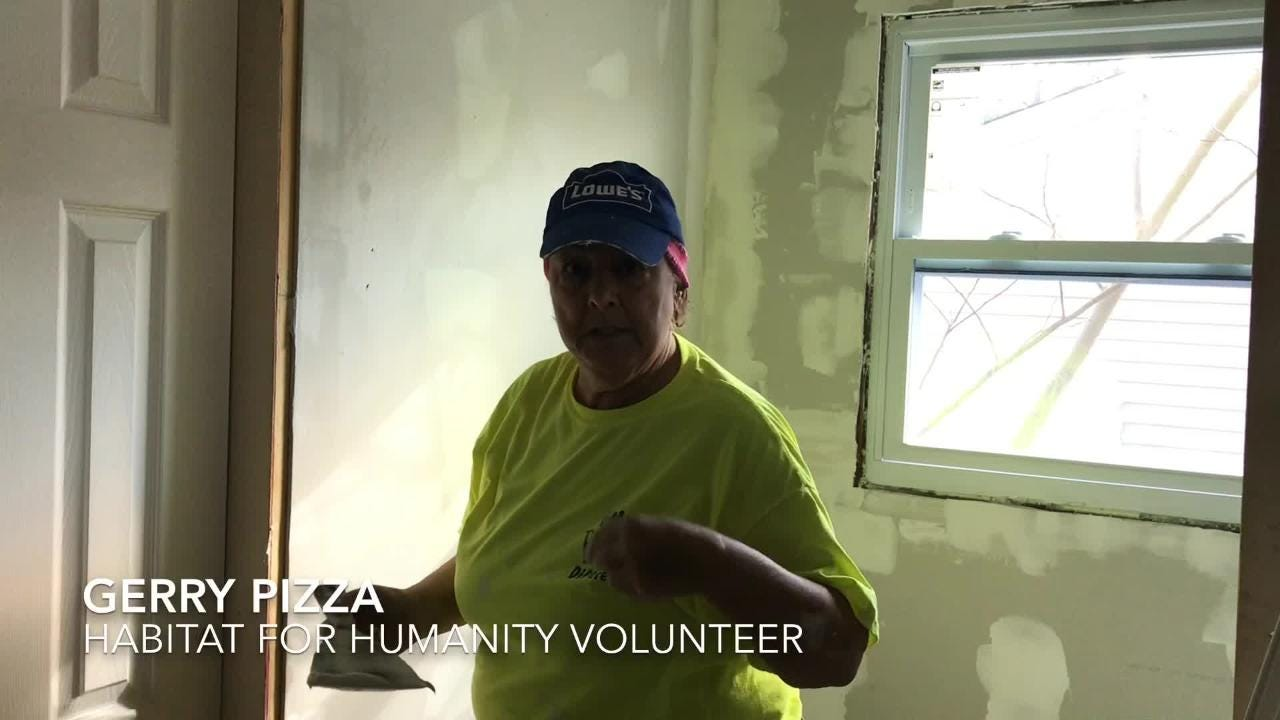 Northern Ocean Habitat for Humanity and the plumbing supply company Ferguson helped a Brick couple with home repairs.