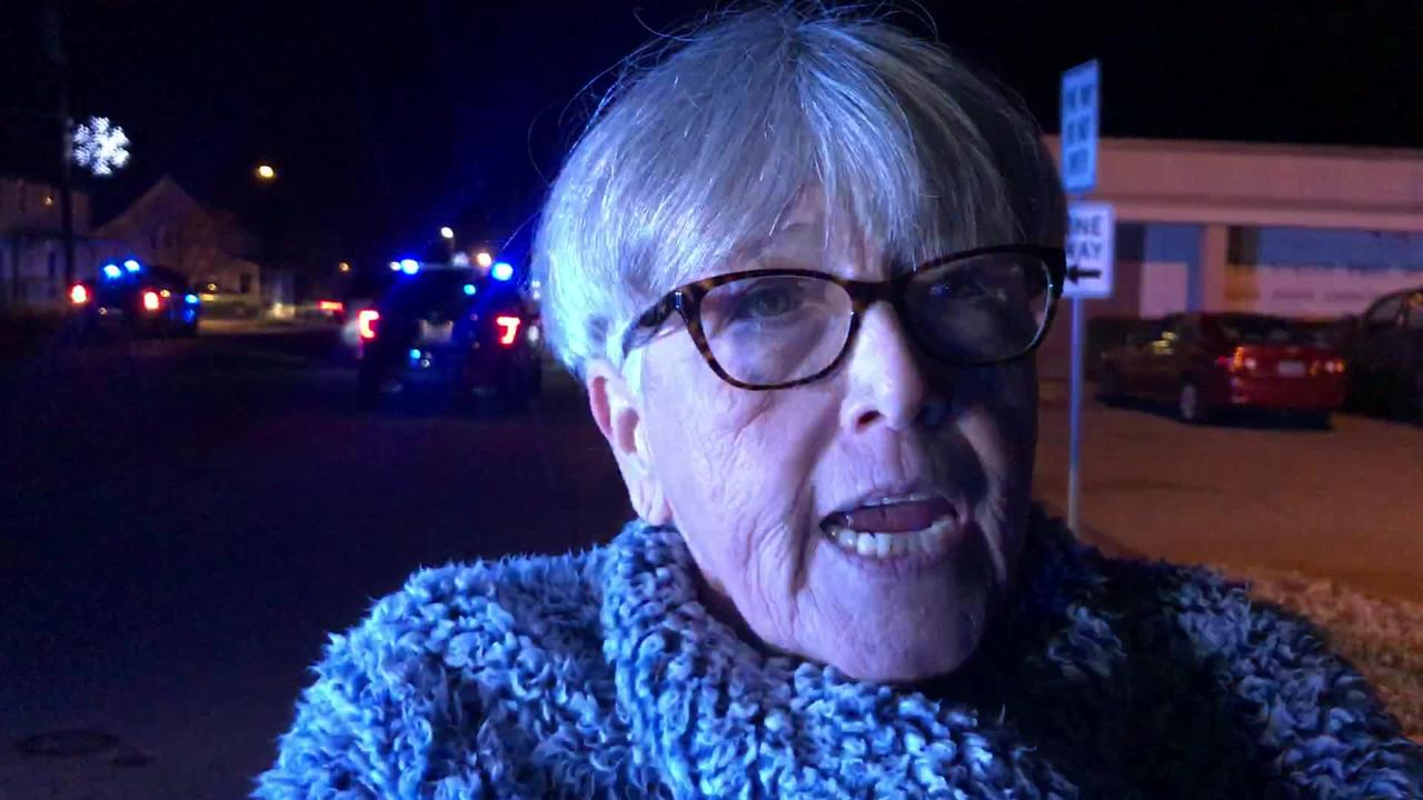 Marsha Slayton, who lives near where the officer-involved shooting took place in Pelzer, describes the incident on Thursday, Dec. 6, 2018.