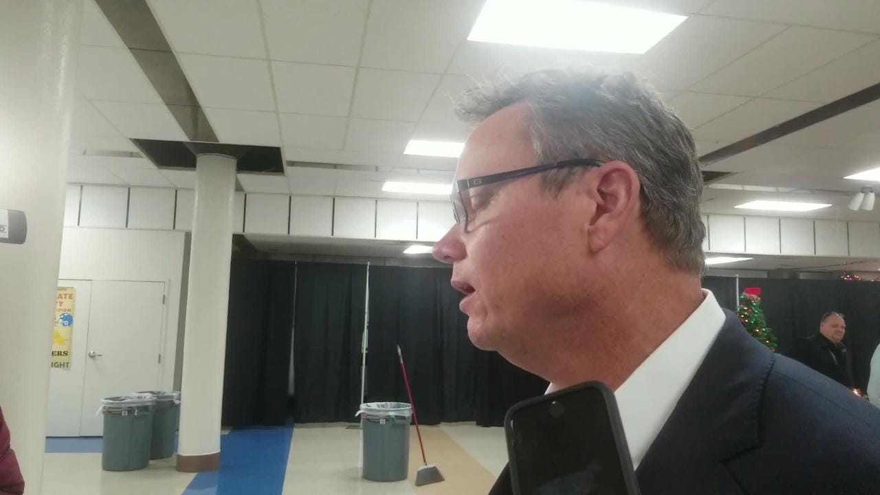 St. Louis Cardinals manager Mike Shildt laughs when asked about the possibility of adding Bryce Harper a day after trading for Paul Goldschmidt.