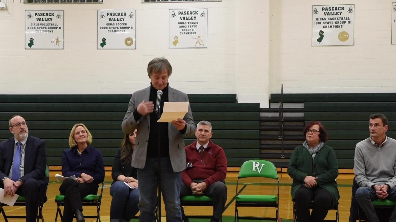 "On Thursday December 06, 2018 Pascack Valley High School named the basketball court ""Jasper Court"" after legendary coach Jeff Jasper."