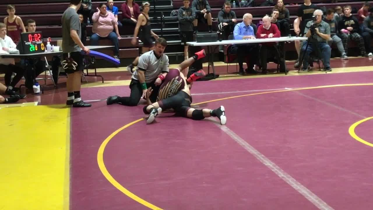 Watkins Memorial and Licking Heights each swept New Albany and Reynoldsburg during the East Side Duals.