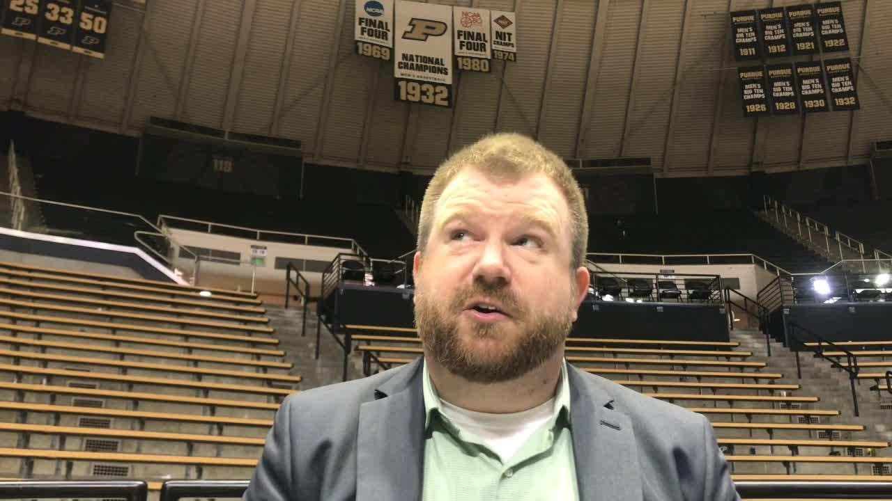 Journal & Courier Purdue insider Nathan Baird on new Boilermakers coming through in clutch moments of a 62-60 victory over No. 23 Maryland.