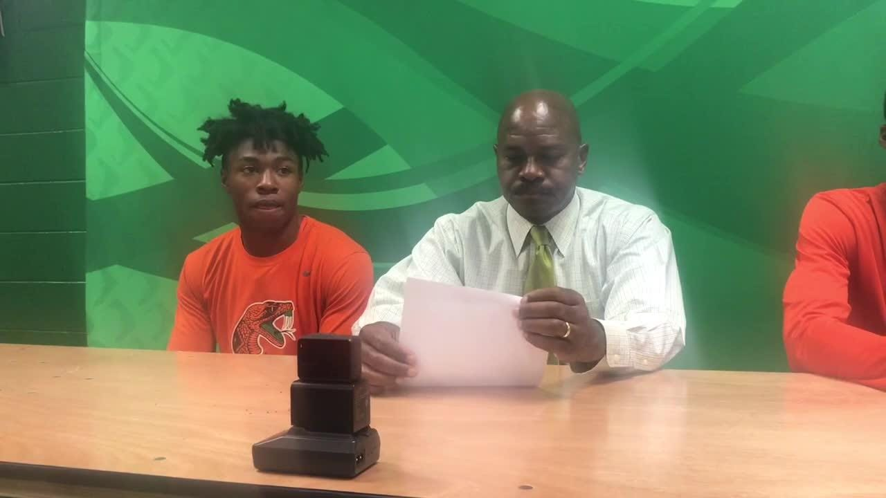 WATCH: FAMU basketball postgame press conference following 80-58 win over Fort Valley State.