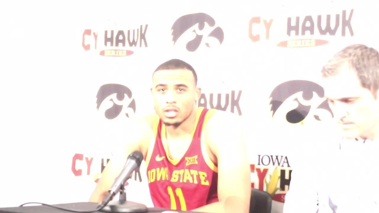 Talen Horton-Tucker talks about facing Tyler Cook