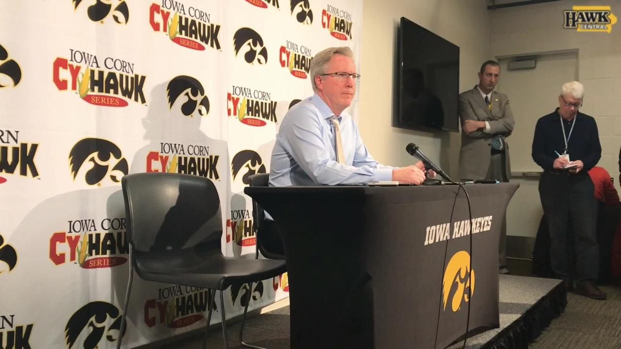 Fran McCaffery: 'It was a spirited game from the beginning'
