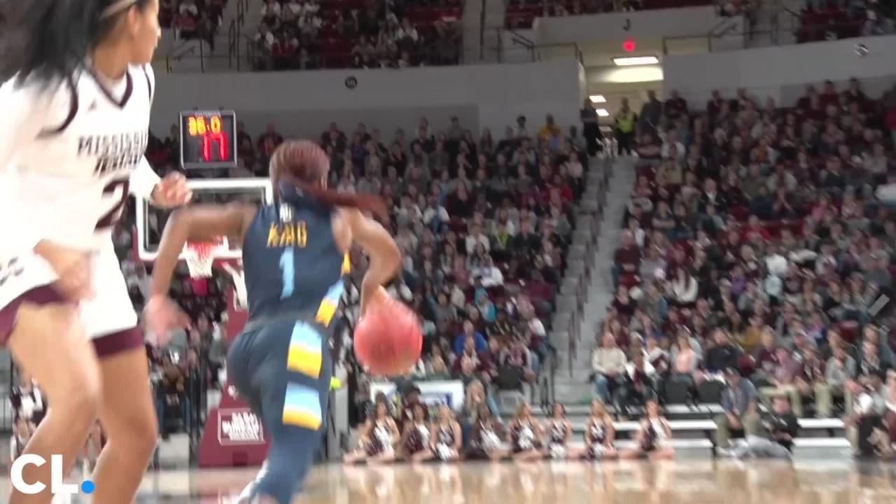 Mississippi State women's basketball defeated Marquette at home Saturday night 87-82.