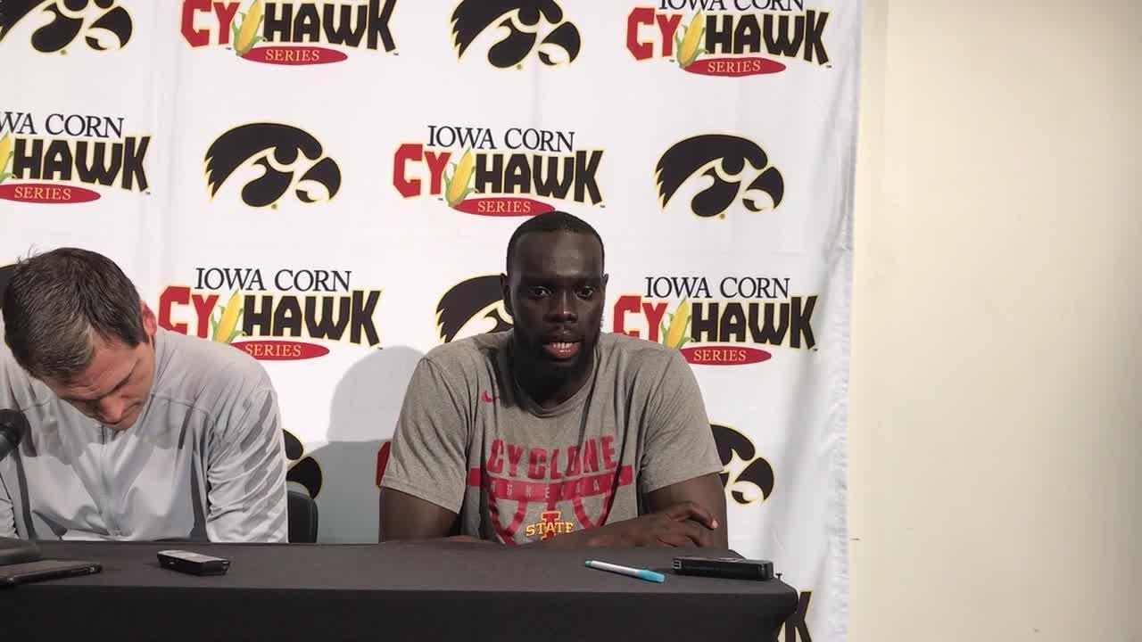 Maria Shayok take about Cy-Hawk loss