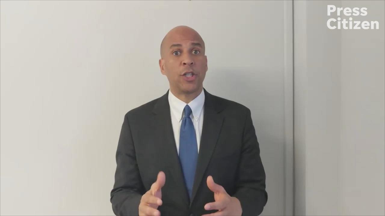U.S. Sen. Cory Booker endorses Royceann Porter in Johnson County's Dec. 18 Special Election.